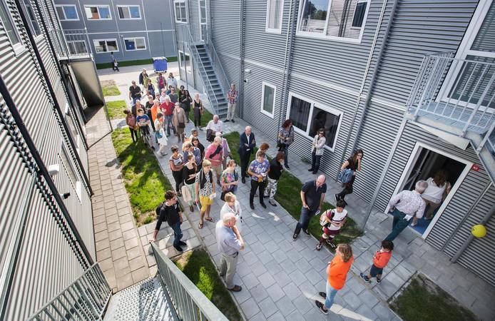 Het asielzoekerscentrum in Rijswijk blijft open tot 2021.