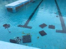 Vernielingen zwembad Haestinge in Sint-Maartensdijk; seizoensopening onzeker