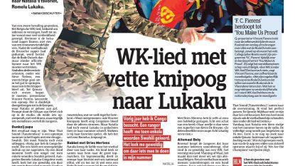 WK-lied met vette knipoog naar Lukaku