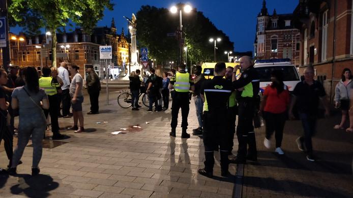 Een man is mishandeld in Den Bosch.