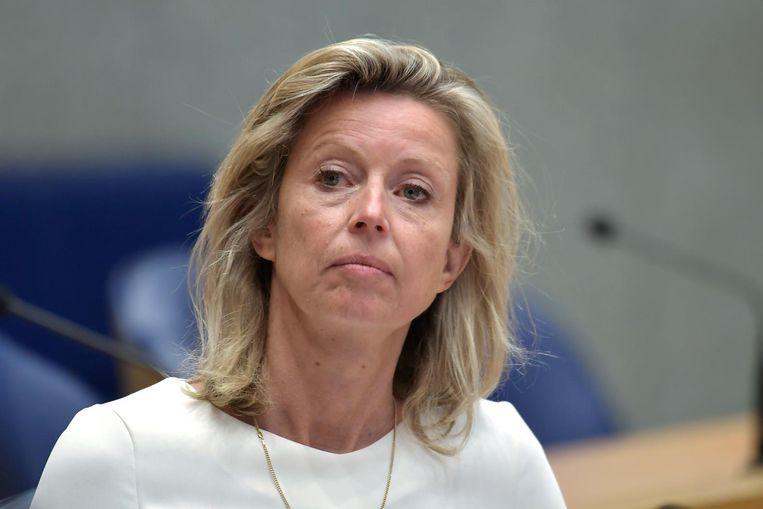 Even nog wordt gedacht aan Kajsa Ollongren, wethouder en loco-burgemeester. Beeld Dijkstra bv