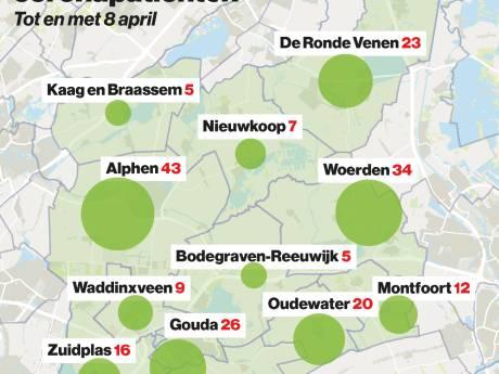 Aantal coronapatiënten in ziekenhuis stijgt met elf in het Groene Hart