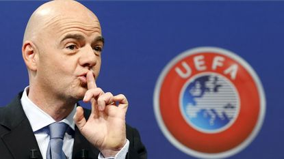 UEFA schaart zich unaniem achter FIFA-kandidatuur van Infantino