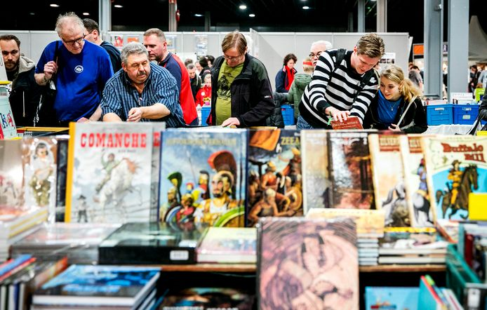 Boek.be organiseert onder andere de Antwerpse Boekenbeurs
