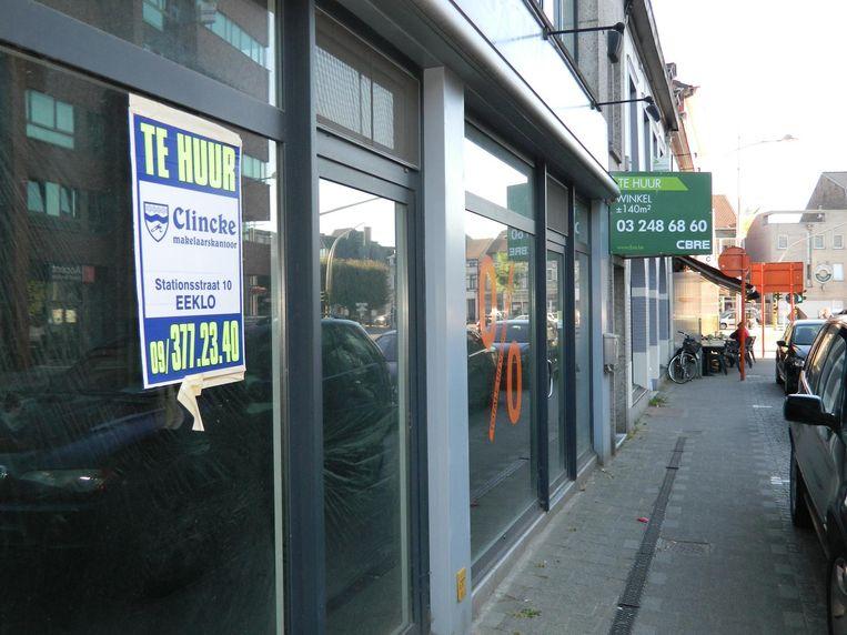 Eeklo heeft nog elf procent leegstaande panden. Unizo wil dat de stad maatregelen neemt.