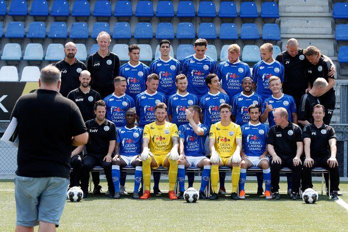 Vorige maand telde de selectie van FC Den Bosch nog zestien spelers. Inmiddels zijn er zeven man en een testspeler bijgekomen.