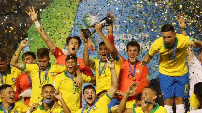 Brazilië was niet eens geplaatst, maar wint wel WK U17 dankzij nieuwe held