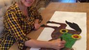GBS De Zonnebloem veilt door BV's gesigneerde paardjes voor Kom op tegen Kanker