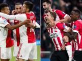 'PSV en Ajax halen allebei de eeuwige top 10'