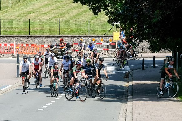 Bikers for Virunga: Wielrenners komen toe in Hoeilaart