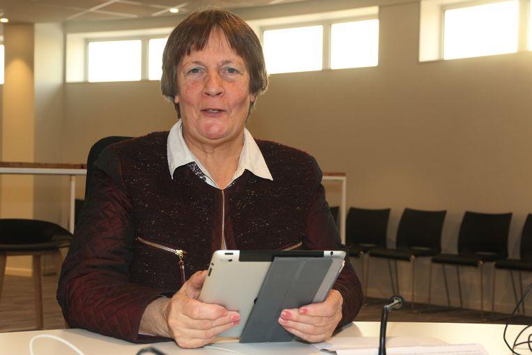 Voorzitter Marieke Cloet.
