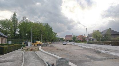 Werken in Proosdijstraat naderen hun einde: laatste deel van straat moet tegen bouwverlof afgewerkt zijn