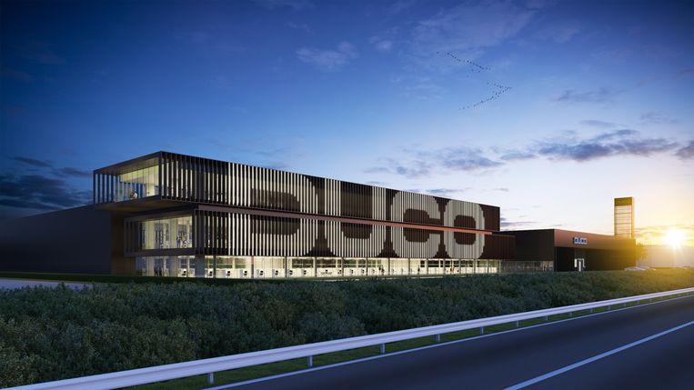 Zo zal het nieuwe bedrijfsgebouw van Duco eruit zien