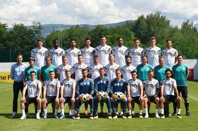 De WK-selectie van titelverdediger Duitsland.