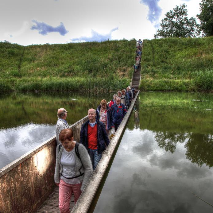 De Mozesbrug op Fort de Roovere in Halsteren is een internationale trekker van formaat.