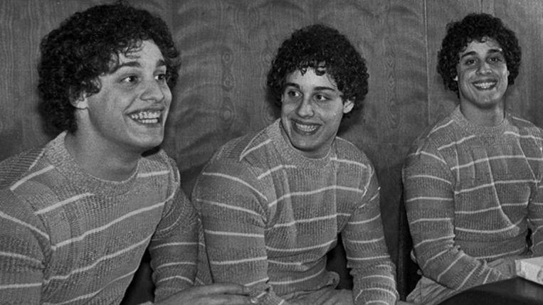 De drie broers zijn dolgelukkig wanneer ze elkaar gevonden hebben.