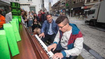 'Piano on tour'op zeven plaatsen in stad