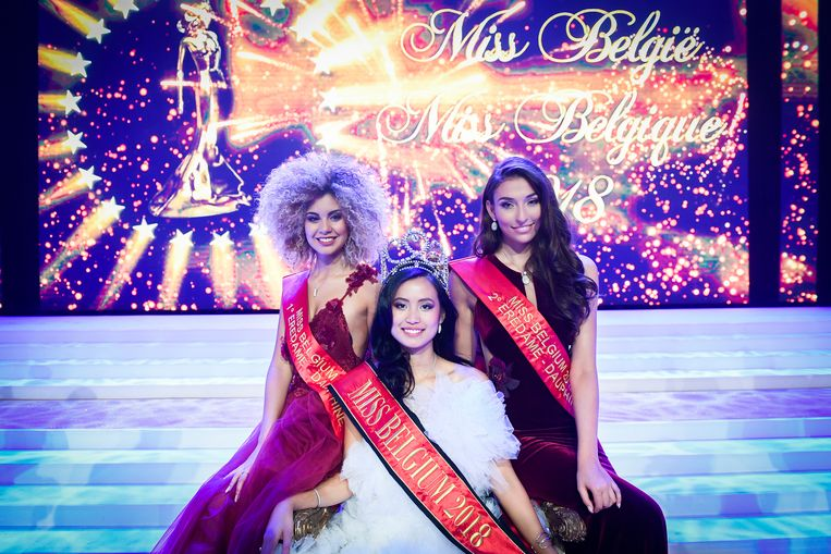 Filipina won Miss Belgium 2018