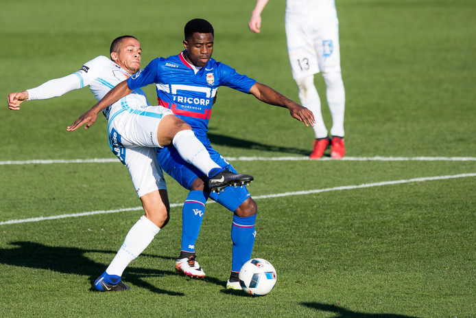 Willem II en AA Gent speelden geregeld oefenwedstrijden tegen elkaar.