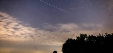 Dagenlang 'vallende sterren' te zien