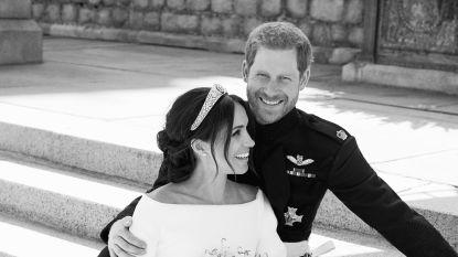 In beeld: bekijk hier de officiële trouwfoto's van Meghan en Harry