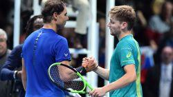 Vamos David! Onze tennisexpert Filip Dewulf ziet hoe coole Goffin als eerste mannelijke Belg ooit het nummer één van de wereld klopt
