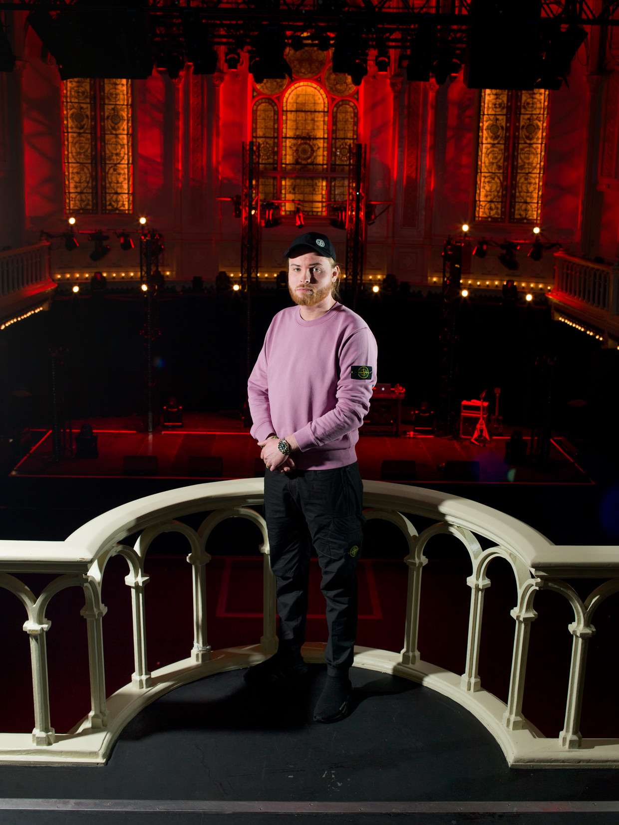 Donnie in Paradiso. Beeld Eva Roefs