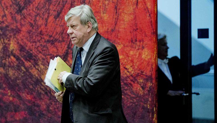 Minister Ivo Opstelten van Justitie. Beeld anp