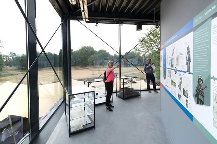 Bezoekerscentrum Fort aan de Buurtsteeg.