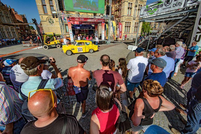 De rally van Ieper kon op heel wat fans rekenen.