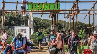Afbraak festivalterrein wordt zware klus