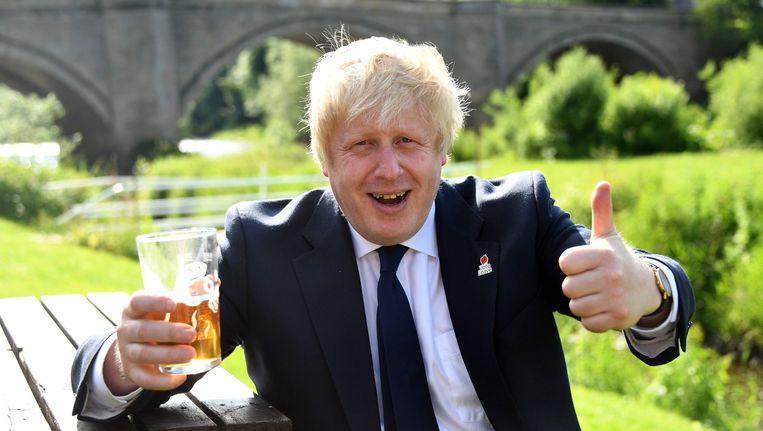 Boris Johnson. Beeld null