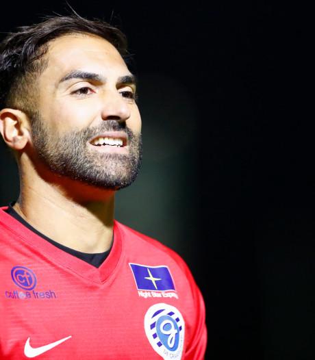 De Graafschap-doelman Jurjus valt uit met rugblessure, Etemadi maakt debuut