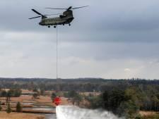 Met Cougar en Chinook brand te lijf tijdens oefening in Esbeek
