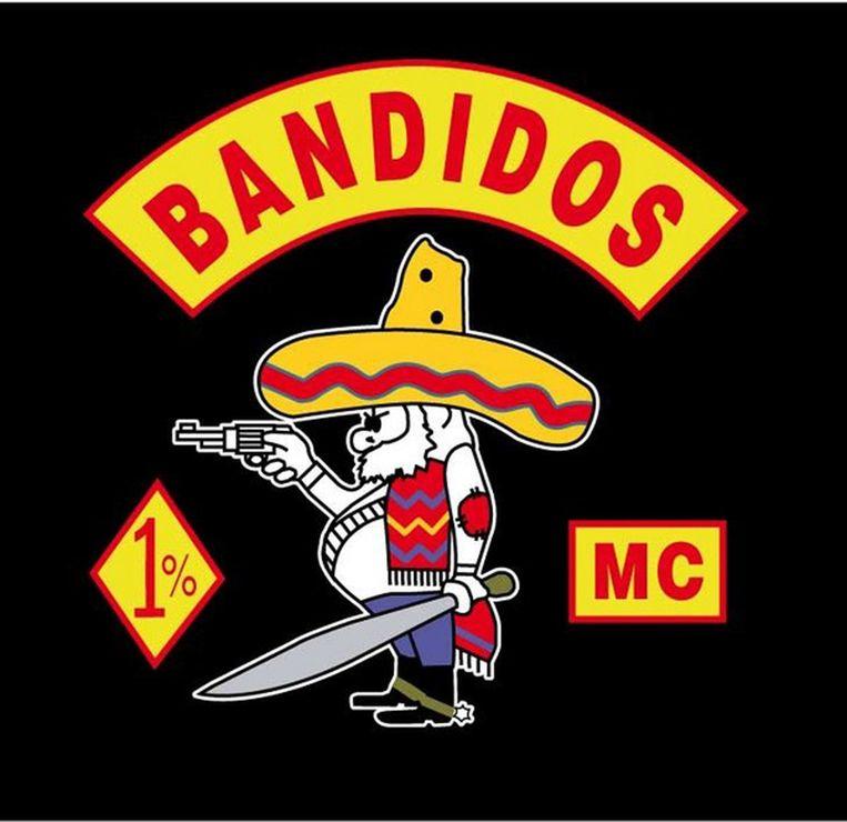 Logo van de bandidos. Beeld anp