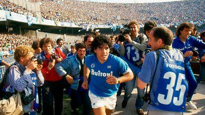 Geblesseerde Maradona kan eigen documentaire op filmfestival van Cannes niet bijwonen