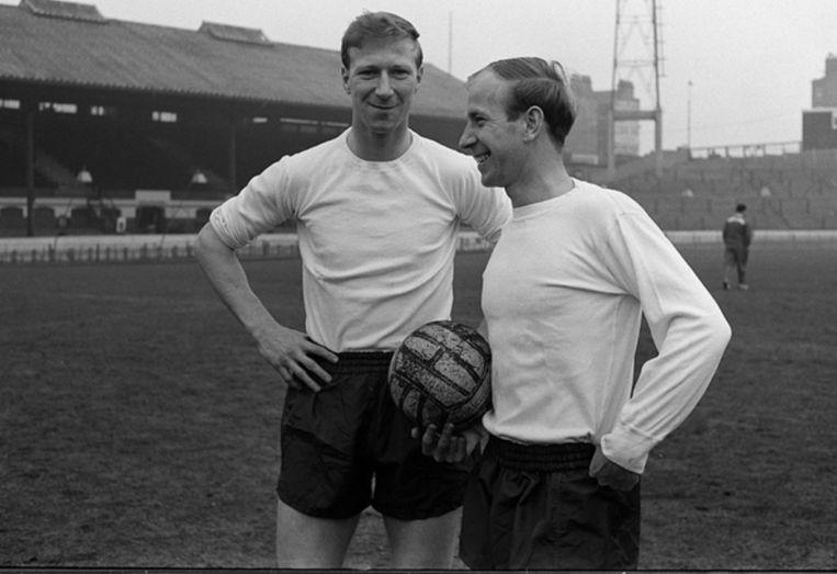 Jacky en Bobby Charlton.