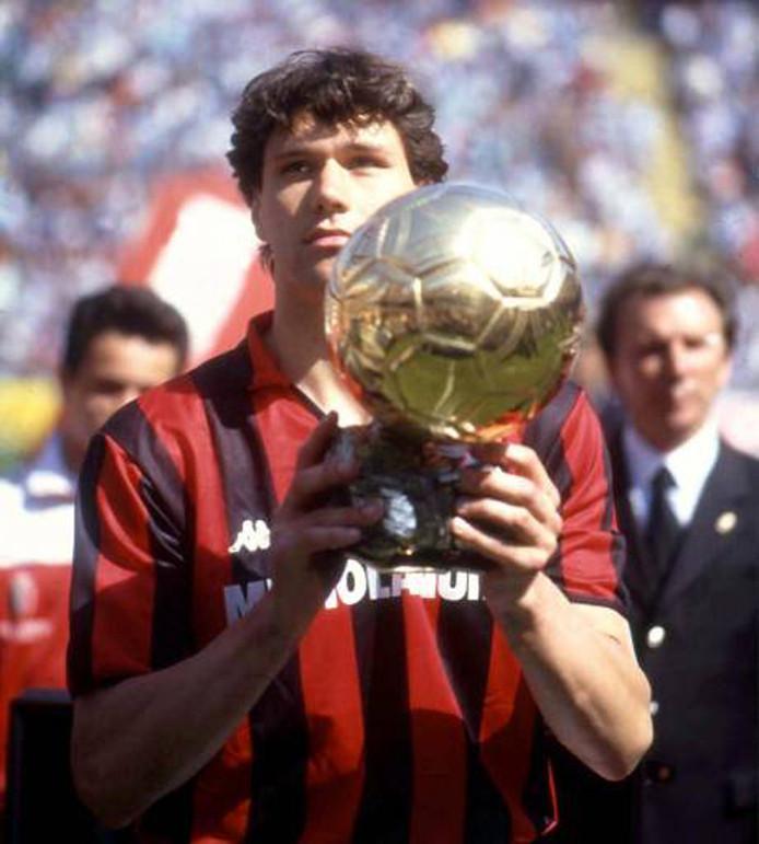 Marco van Basten won de Ballon d'Or drie keer.