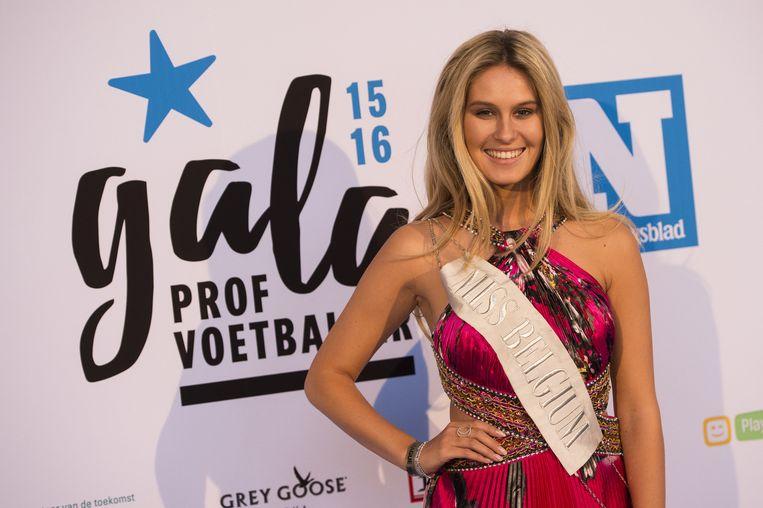 Miss België Lenty Frans.