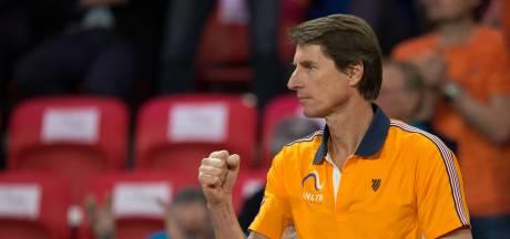 Paul Haarhuis stopt als captain van tennissters