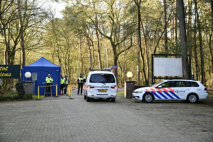 Controle op camping de Scheepsbel