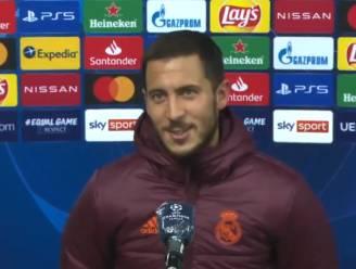 """Hazard is dolgelukkig met wederoptreden: """"Ben hier om te voetballen"""""""