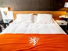 Hier slaapt het Nederlands elftal