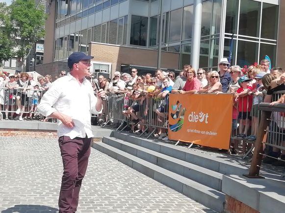 Herman Verbruggen kreeg het publiek weer op zijn hand.