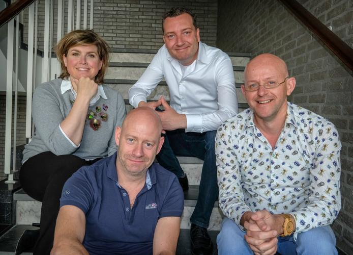 AD Media Podcast, Alexander van Eenennaam, Gudo Tienhooven, Angela de Jong en Dennis Jansen.