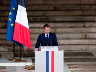 """Macron over islamitisch extremisme: """"We zullen cartoons nooit opgeven"""""""