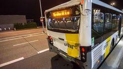 1 zwaargewonde, 11 lichtgewonden bij botsing lijnbussen Hasselt