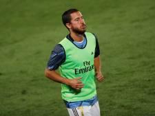 """Zidane: """"Eden Hazard doit être à 100% pour jouer"""""""