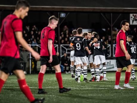 Vier grote voetbalclubs uit Arnhem samen in derde klasse D West
