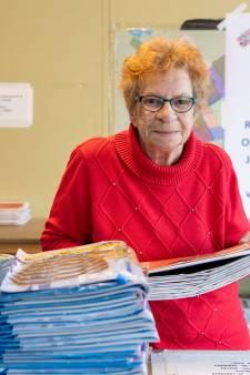 Jenny stopt, dat mag in de krant!